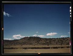 Landscape along the Santa Fe R.R., Willard, N[ew] Mex[ico]  (LOC)