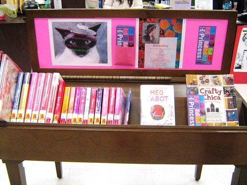 Here's a fun photo of a display an LA-based library made from the Meg ...