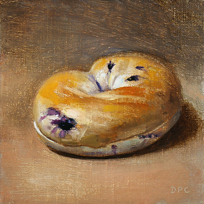 Lender's blueberry bagel