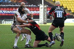 Day #69 (cazphoto.co.uk) Tags: rugby 0903 watford saracens salesharks sebastienchabal glenjackson danscarborough project366