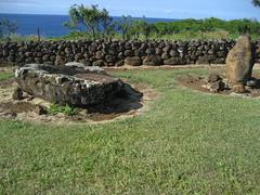 Mo'okini Heiau - Sacrifical Altar