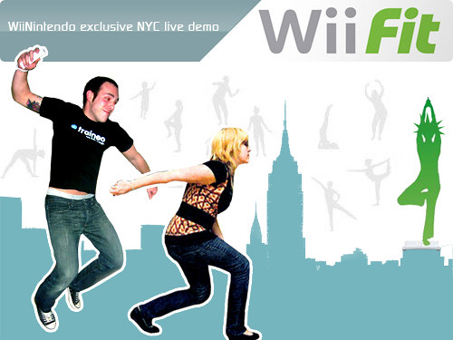 My first 30 min./ Wii Fit