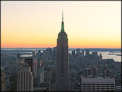 Beautiful views at Top of the Rock (Natasja Valentijn) Tags: city sunset usa ny newyork america canon view manhattan esb empirestatebuilding g3 topoftherock totr