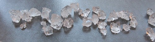 sucrose recrystallized