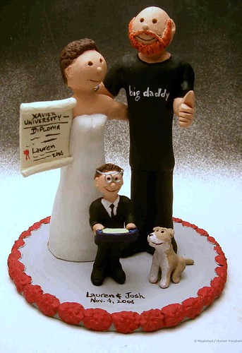 funny wedding cake toppers. Graduate#39;s Wedding Cake Topper