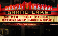 Harold & Kumar (cwgoodroe) Tags: lake film oakland bay theater neon grand area grandlake movies pentaxist oldtheater