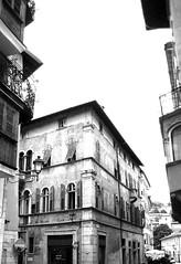 Il bivio obbligato... (Giacomo Zampieri... alla ricerca.) Tags: life old bw contrast way ancient palace trento chance palazzo biancoenero vita divieto bivio scelta manci suffragio