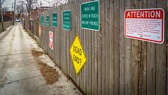 2017.02.12 Signs of Regret (of the dying) Brookland Neighborhood, Washington, DC USA 00608