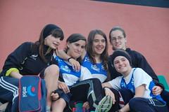 Parte del equipo cadete femenino del Ardoi