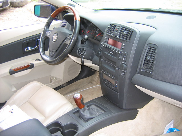 2003 interior cadillac cts 0201p9