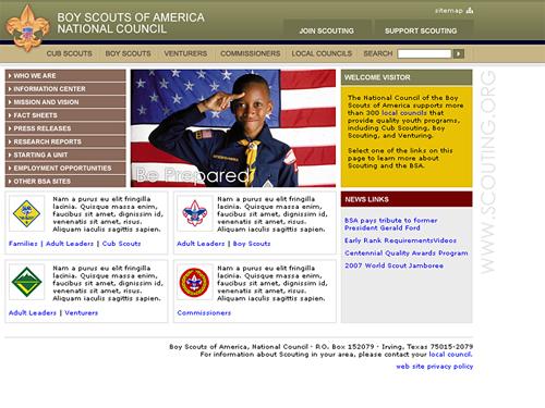 Boy Scouts of America Natio