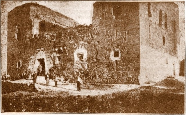 Palacio de Galiana a principios del siglo XX.
