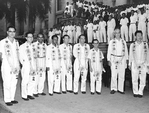 The 1959 Cabinet Ministers