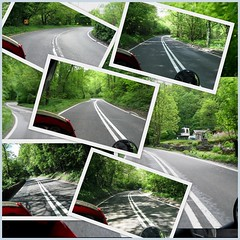 Cool roads today.. Via Gellia Road.. (Mike-Lee) Tags: collage tiger picasa triumph bakewell matlock motobike may2011 viagellia