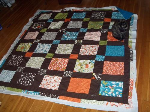Sister's quilt avec Patches
