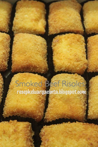 Smoked Beef Risoles Nancy