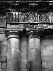 20140311-0003 (www.cjo.info) Tags: blackandwhite building monochrome stone architecture scotland blackwhite edinburgh unitedkingdom stonework carving classical column citycenter oldtown oldbuilding neoclassical doric southbridge universityofedinburgh geo:city=edinburgh geo:state=scotland camera:make=olympusimagingcorp geo:countrys=unitedkingdom exif:make=olympusimagingcorp exif:focallength=45mm exif:aperture=32 exif:model=epl3 camera:model=epl3 exif:lens=olympusm45mmf18 universityofedinburgholdcollege exif:isospeed=200 geo:lon=31870583333333 geo:lat=55947558333333