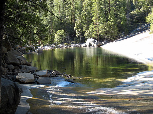 Lake atop Vernal Falls