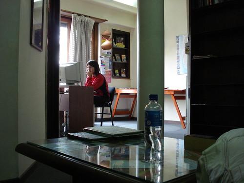 Ana en el blog