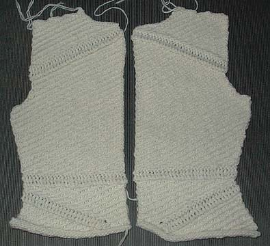 Slip Stitch Jacket Front
