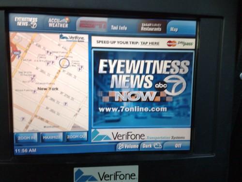 nyc taxi tv