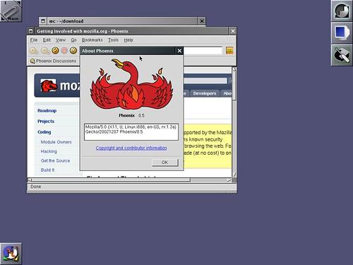 Phoenix 0.5 sous Slackware Linux 12.0