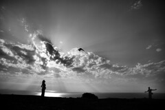 The Sky Walker (Filipe Palha) Tags: bw candid sights blancinegre bwdreams ysplix filipepalha