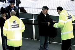 London Eye Bag Search