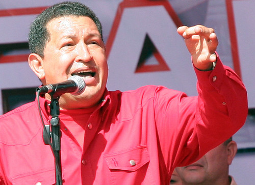 Presidente Chávez entrega vehículos a by ¡Que comunismo!, on Flickr