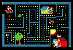 8 Bit Maze