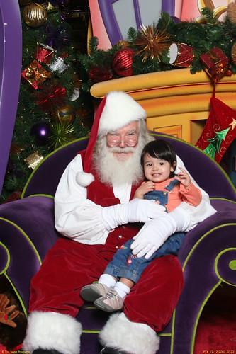 Rachel and Santa