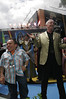 Warwick Davis and Anthony Daniels