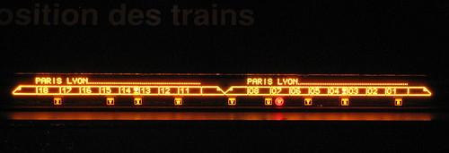 LED train