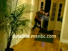 Perp Gets Zapped with Taser on Dateline's To Catch A Predator [video]