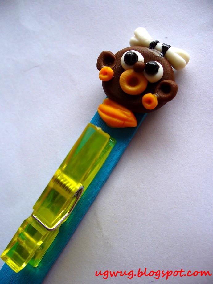 Monkey mini peg