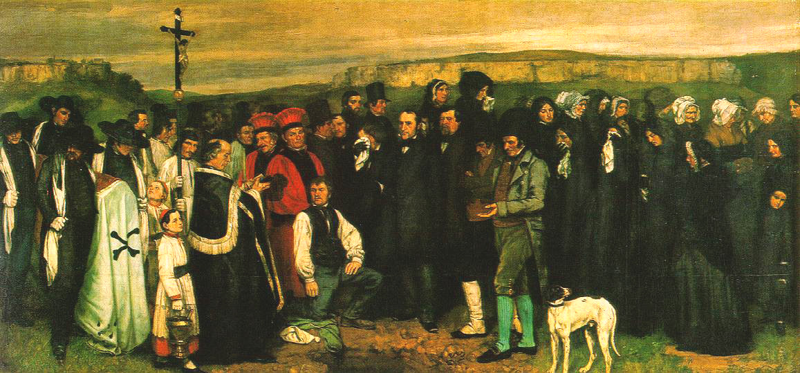 Courbet,_Un_enterrement_à_Ornans