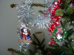 Christmas tree decorations - shepherd