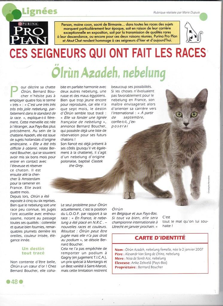 Publications - Atout Chat- France - september 2007 2170760409_c2388d7c8b_b
