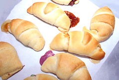 Candy in Crescent Rolls
