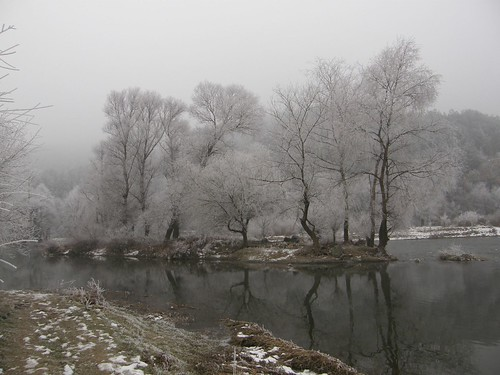 Struma River in Winter