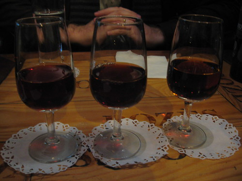 Tawny Port tasting at Vinologia in Porto, Portugal