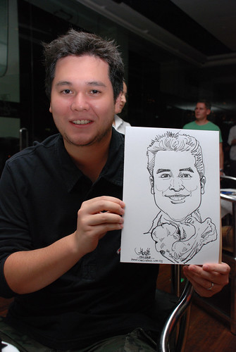 Caricature birthday party 190108 6