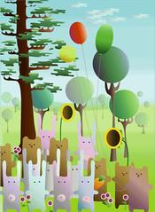 (Vishnya) Tags: rabbit art illustration design russia ufa adobeillustrator rebbit rebbits