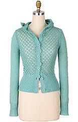 fishnet cardi (apples and aspen) Tags: knitting inspirations