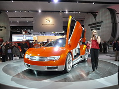 dodge zeo concept (joojanta) Tags: auto show usa car hall model doors jeep detroit led dodge hostess chrysler concept 2008 messe ausstellung naias cobo zeo lambo ligthing scheinwerfer