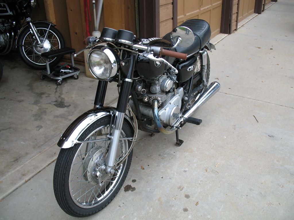 CB175 Jon Barbour Tags Honda 1971 Cafe Twin Caferacer Racer Views500 Cb175 175cc