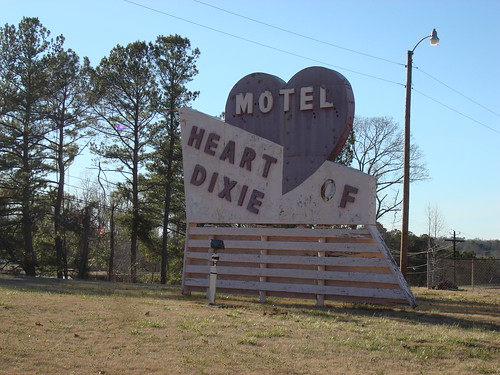 Motel Heart of Dixie, Dadeville AL