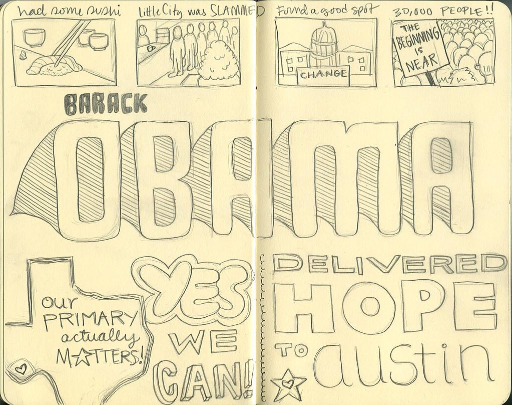 Barack Obama delivered hope to Austin