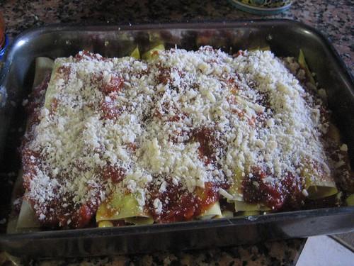Cannelloni w/ Parmesan