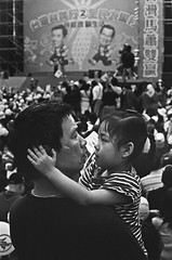 - My love. (Nien-Yi Ho ) Tags: monochrome kodak father taiwan taipei      kodak400tx  contax137md  film017 135 carlzeiss50mmf14 2008col resized66 nienyihophotography